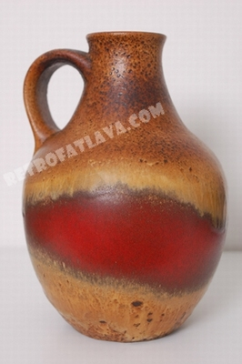Bay Kermaik handled vase