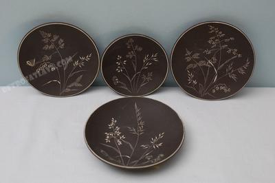 4 Krupinski Töpferei wall plates