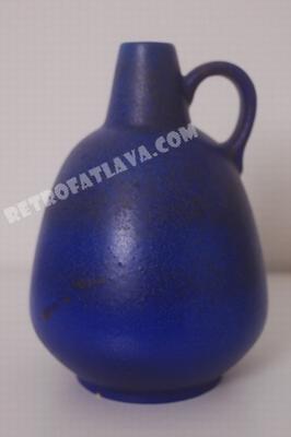 Ruscha handled vase