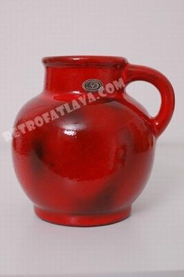 Van Daalen (Fritz) handled vase