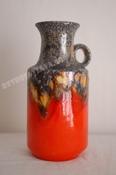 Ü-Keramik handled vase (Uebelacker)